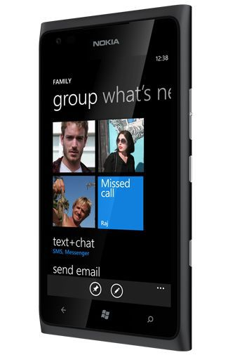 Productafbeelding van de Nokia Lumia 900 Black