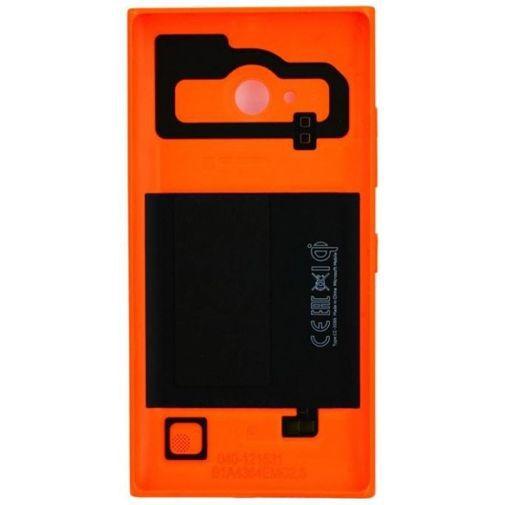 Productafbeelding van de Nokia Wireless Charging Shell Orange Lumia 735