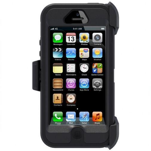 Productafbeelding van de Otterbox Defender Case Apple iPhone 5 Black