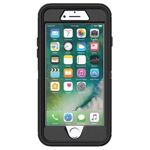 Produktimage des Otterbox Defender Schutzhülle Schwarz Apple iPhone 7/8/SE 2020