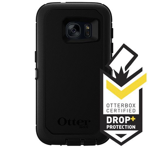 Productafbeelding van de Otterbox Defender Case Black Samsung Galaxy S7