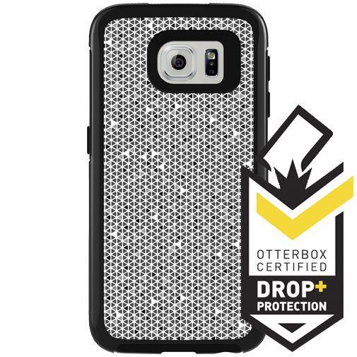 Productafbeelding van de Otterbox My Symmetry Case Black Crystal Samsung Galaxy S6