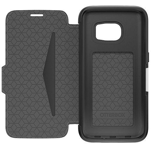 Productafbeelding van de Otterbox Strada 2.0 Leather Case Black Samsung Galaxy S7 Edge
