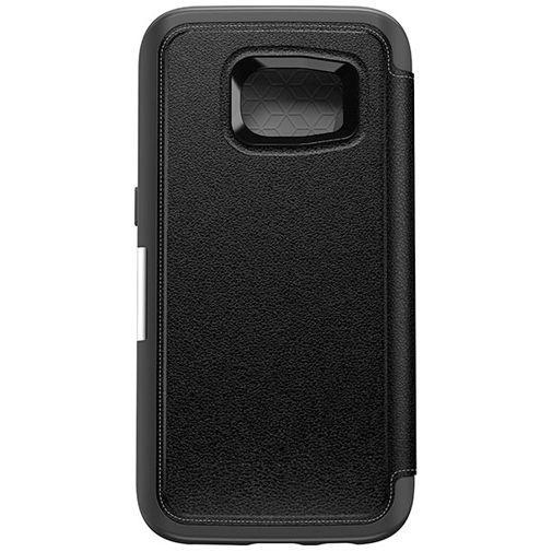 Productafbeelding van de Otterbox Strada Folio Case Black Samsung Galaxy S7