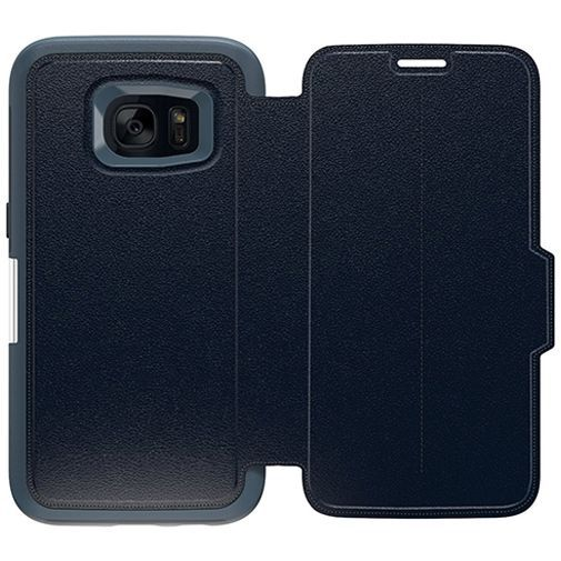 Productafbeelding van de Otterbox Strada 2.0 Leather Case Navy Blue Samsung Galaxy S7 Edge