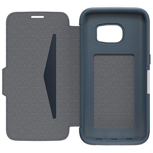 Productafbeelding van de Otterbox Strada 2.0 Leather Case Navy Blue Samsung Galaxy S7