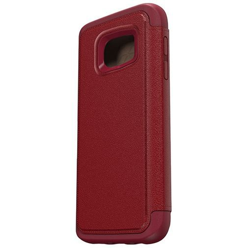 Productafbeelding van de Otterbox Strada 2.0 Leather Case Red Samsung Galaxy S7