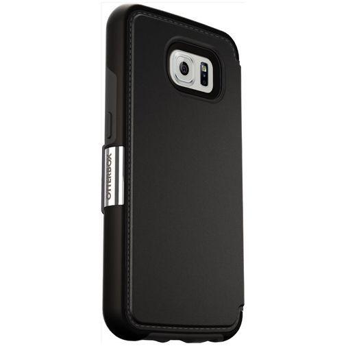 Productafbeelding van de Otterbox Strada Case Black Samsung Galaxy S6