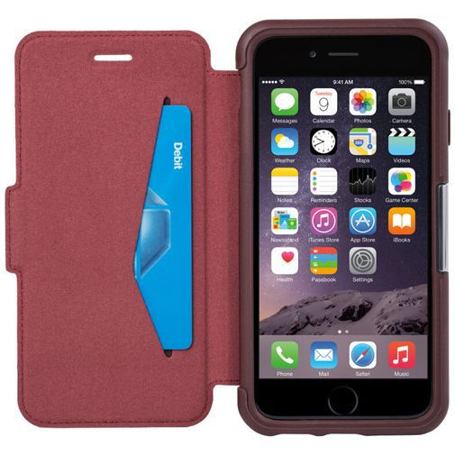 Productafbeelding van de Otterbox Strada Case Burgundy Apple iPhone 6/6S