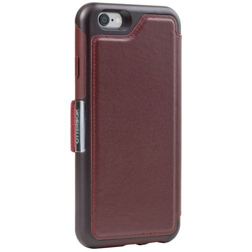 Productafbeelding van de Otterbox Strada Case Burgundy Apple iPhone 6/6S