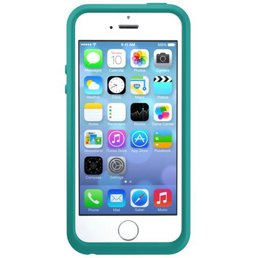 Productafbeelding van de Otterbox Symmetry Case Aqua Sky Apple iPhone 5/5S/SE