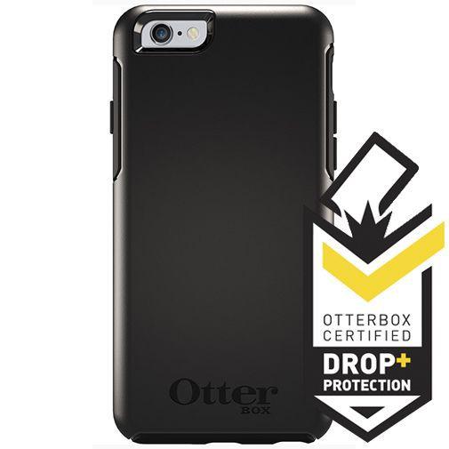 Productafbeelding van de Otterbox Symmetry Case Black Apple iPhone 6/6S