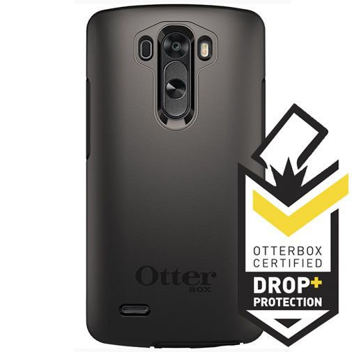 Productafbeelding van de Otterbox Symmetry Case Black LG G3