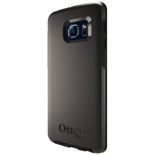 Productafbeelding van de Otterbox Symmetry Case Black Samsung Galaxy S6 Edge