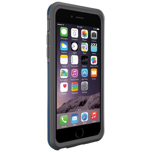 Productafbeelding van de Otterbox Symmetry Case Blue Print Apple iPhone 6/6S