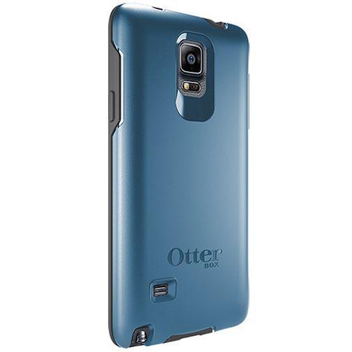 Productafbeelding van de Otterbox Symmetry Case Blue Samsung Galaxy Note 4