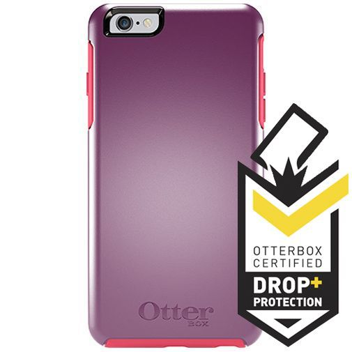 Productafbeelding van de Otterbox Symmetry Case Damson Berry Apple iPhone 6 Plus/6S Plus