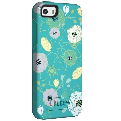 Productafbeelding van de Otterbox Symmetry Case Eden Teal Apple iPhone 5/5S/SE