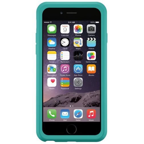 Productafbeelding van de Otterbox Symmetry Case Eden Teal Apple iPhone 6/6S