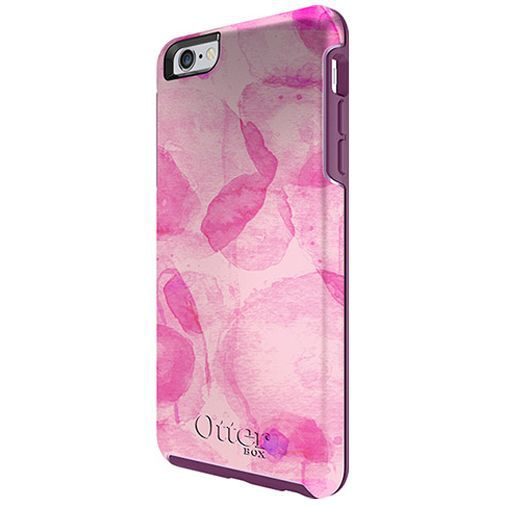 Productafbeelding van de Otterbox Symmetry Case Poppy Petal Apple iPhone 6 Plus/6S Plus