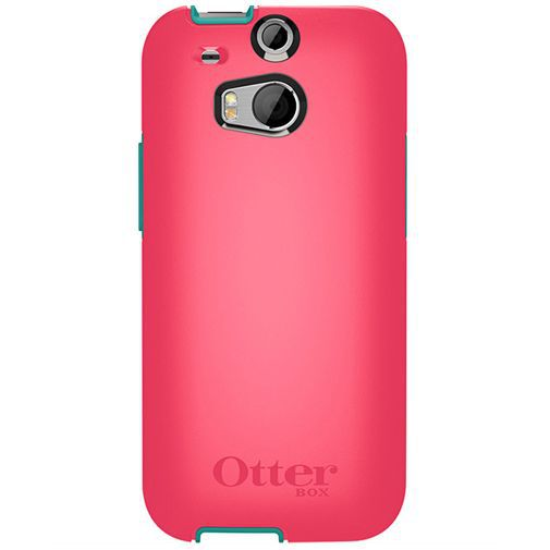Productafbeelding van de Otterbox Symmetry Case Teal Rose HTC One M8
