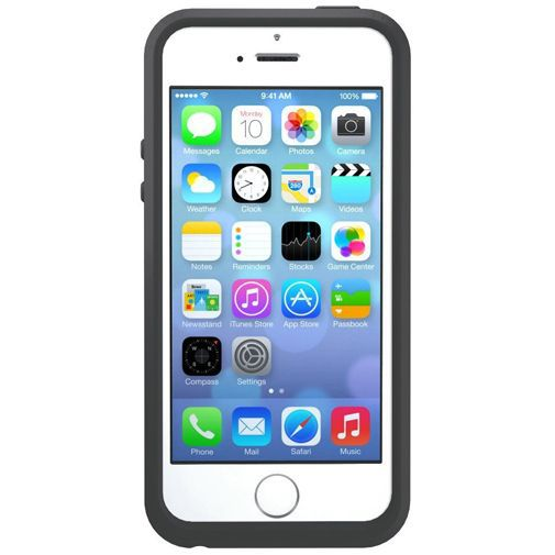 Productafbeelding van de Otterbox Symmetry Case Triangle Grey Apple iPhone 5/5S/SE