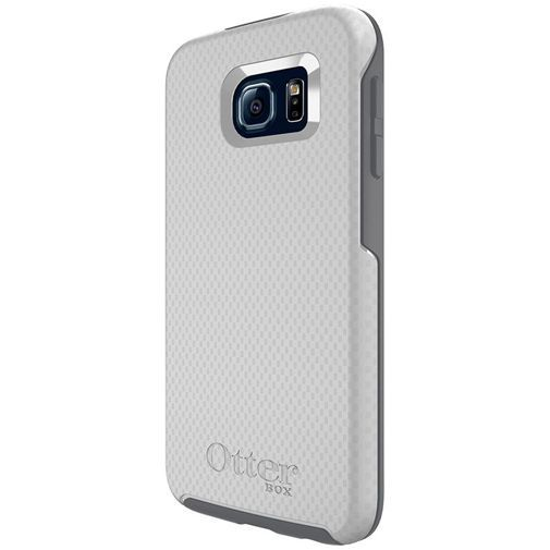Productafbeelding van de Otterbox Symmetry Case White Carbon Samsung Galaxy S6