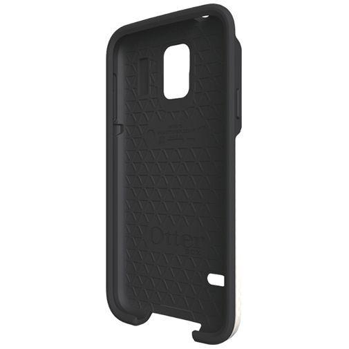 Productafbeelding van de Otterbox Symmetry Case White Grey Samsung Galaxy S5/S5 Plus/S5 Neo