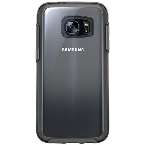 Productafbeelding van de Otterbox Symmetry Clear Case Black Crystal Samsung Galaxy S7