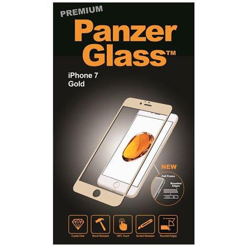 Productafbeelding van de PanzerGlass Premium Screenprotector Gold Apple iPhone 7