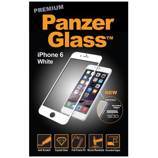 Productafbeelding van de PanzerGlass Premium Screenprotector White Apple iPhone 6/6S