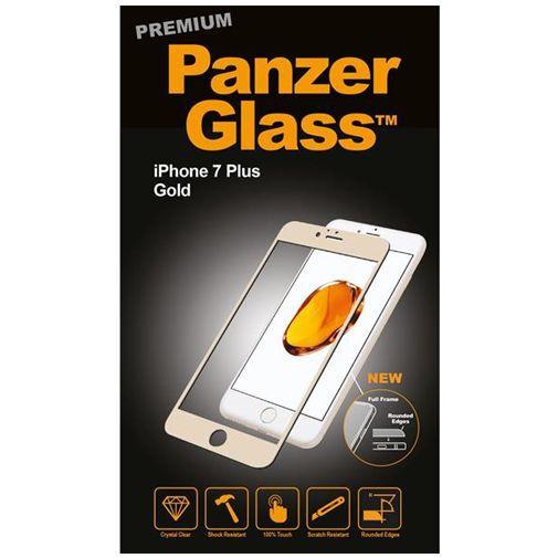 Productafbeelding van de PanzerGlass Premium Screenprotector Gold Apple iPhone 7 Plus