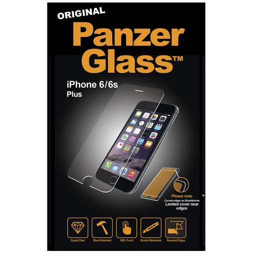 Productafbeelding van de PanzerGlass Screenprotector Apple iPhone 6 Plus/6S Plus