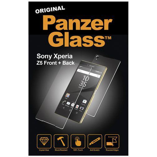 Productafbeelding van de PanzerGlass Screenprotector Front and Back Sony Xperia Z5