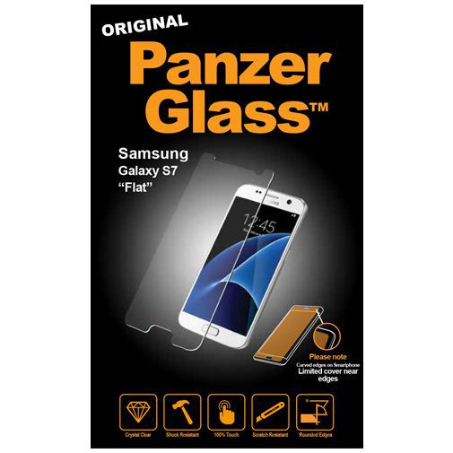 Productafbeelding van de PanzerGlass Screenprotector Samsung Galaxy S7