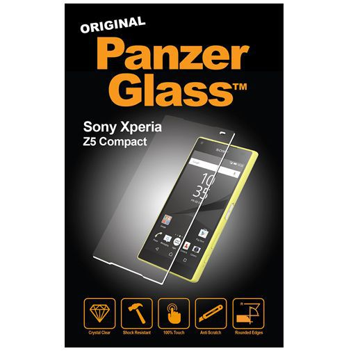 Productafbeelding van de PanzerGlass Screenprotector Sony Xperia Z5 Compact