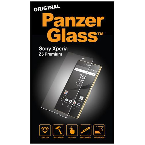 Productafbeelding van de PanzerGlass Screenprotector Sony Xperia Z5
