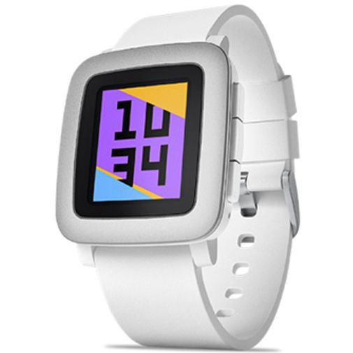 Productafbeelding van de Pebble Time Smartwatch White