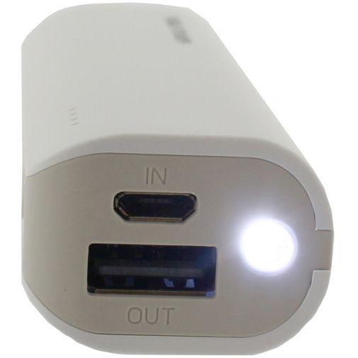 Productafbeelding van de RealPower Powerbank 4000 mAh White