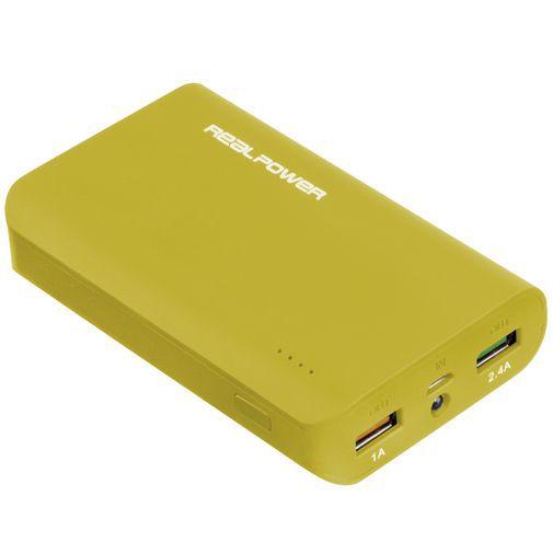 Productafbeelding van de RealPower Powerbank 6000 mAh Yellow