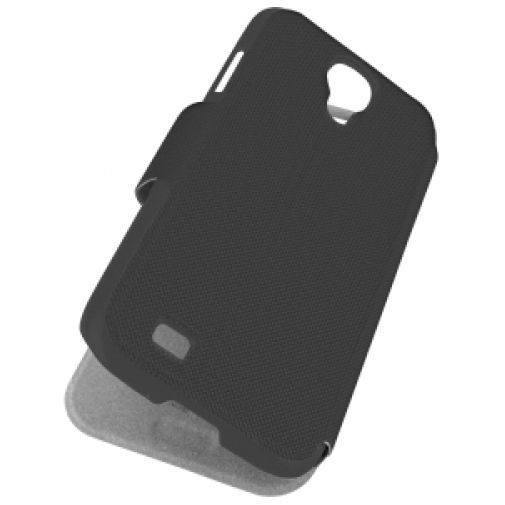 Productafbeelding van de Rock Flexible Flip Case Black Samsung Galaxy S4 Mini
