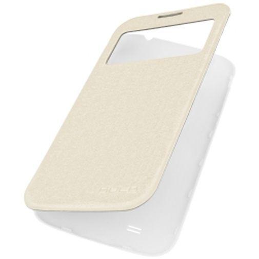 Productafbeelding van de Rock Flip Case Magic Preview White Samsung Galaxy S4 Mini (VE)