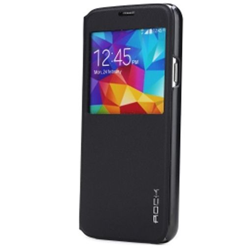 Productafbeelding van de Rock Flip Case Stand Uni Series Black Samsung Galaxy S5