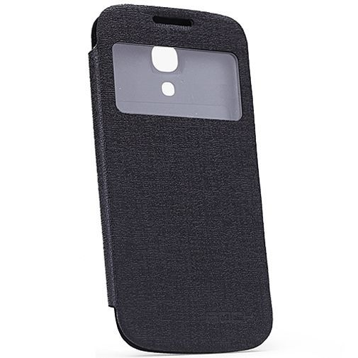 Productafbeelding van de Rock Flip Case Magic Preview Black Samsung Galaxy S4 Mini