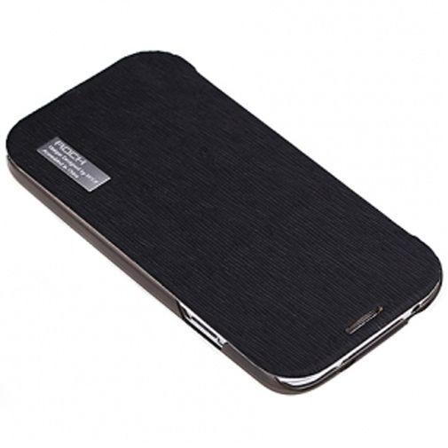 Productafbeelding van de Rock Side Flip Case Elegant Black Samsung Galaxy S4