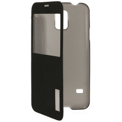 Productafbeelding van de Rock Side Flip Case Elegant Black Samsung Galaxy S5