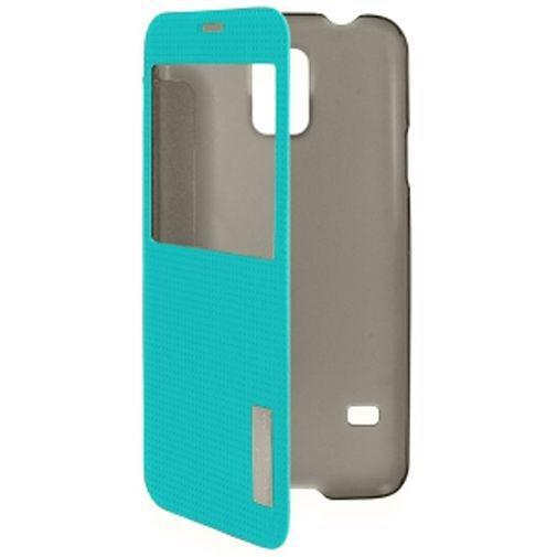 Productafbeelding van de Rock Side Flip Case Elegant Blue Samsung Galaxy S5