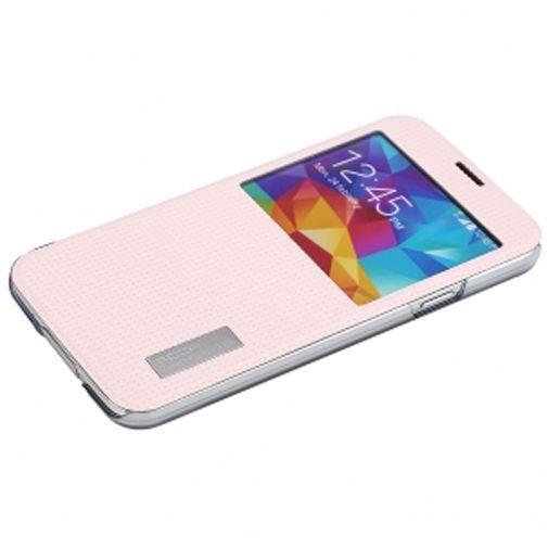 Productafbeelding van de Rock Side Flip Case Elegant Rose Red Samsung Galaxy S5
