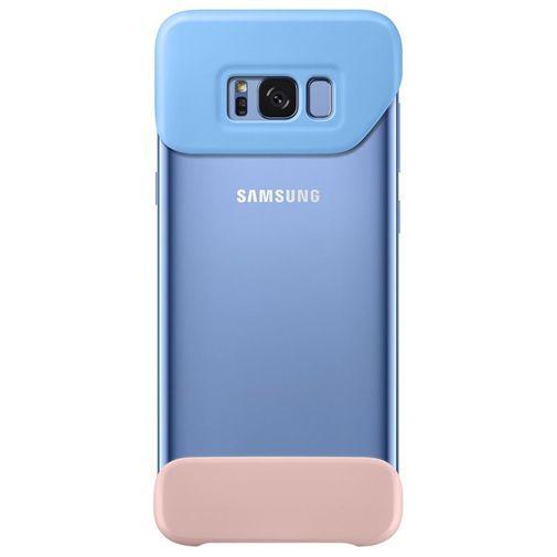 Productafbeelding van de Samsung 2Piece Cover Blue/Pink Galaxy S8+