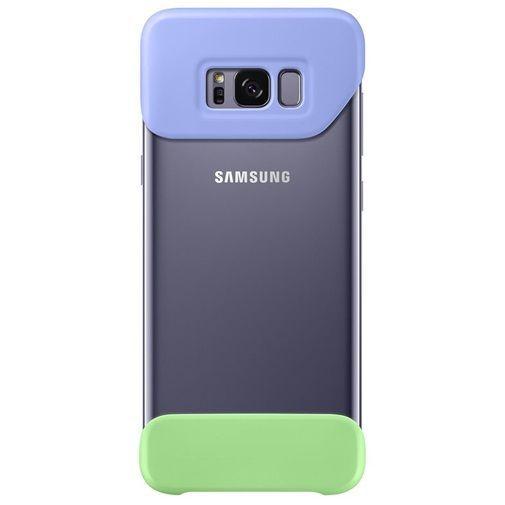 Productafbeelding van de Samsung 2Piece Cover Violet/Green Galaxy S8+